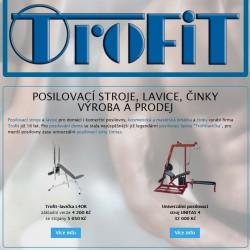 TROFIT - posilovací stroje
